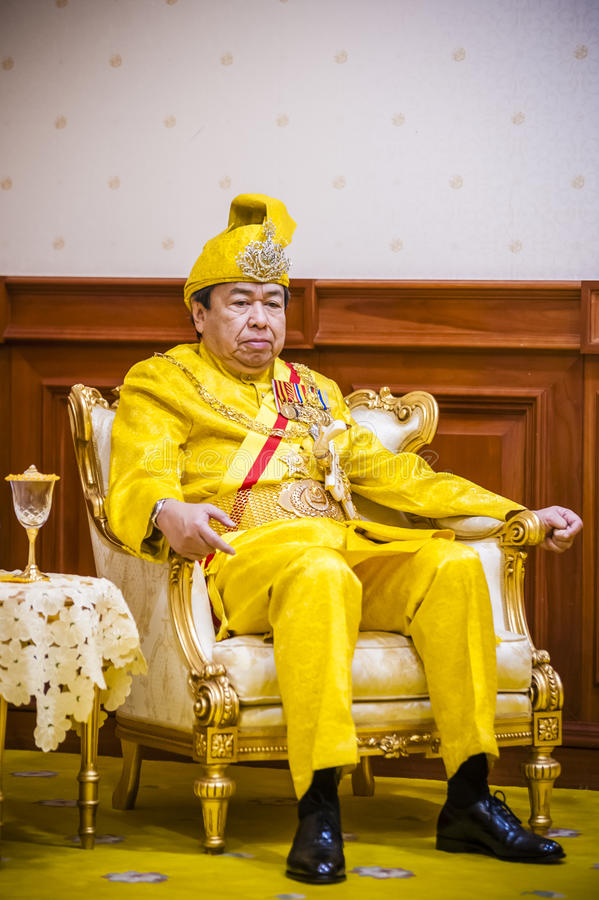 Ο βασιλικός σουλτάνος Highness Selangor στοκ εικόνες