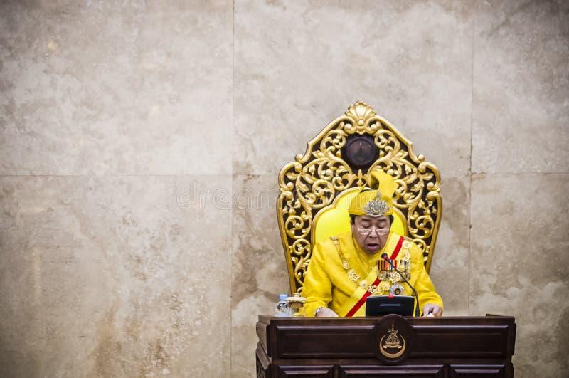 Ο βασιλικός σουλτάνος Highness Selangor στοκ εικόνα με δικαίωμα ελεύθερης χρήσης