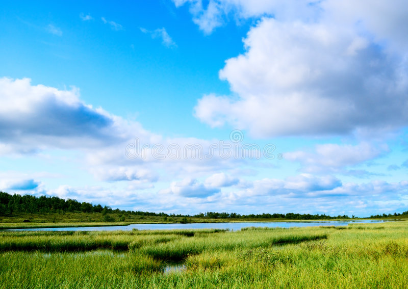 ο Βορράς βουνών λιμνών Στοκ φωτογραφίες με δικαίωμα ελεύθερης χρήσης