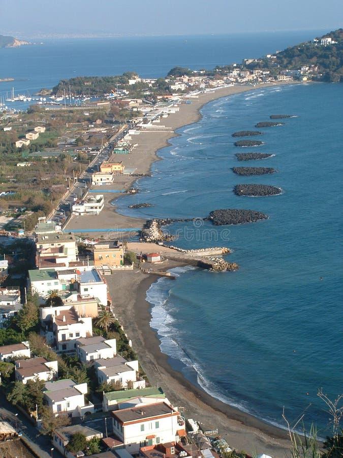 ο Βορράς της Νάπολης ακτών στοκ φωτογραφία