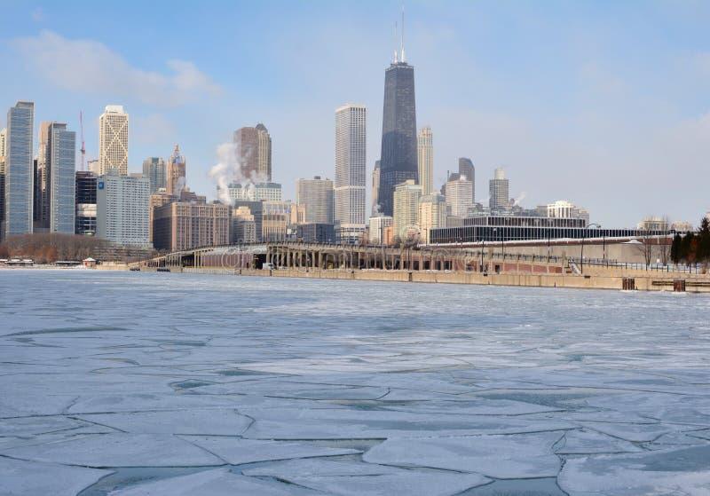 Ο Βορράς χειμερινών οριζόντων στοκ εικόνα με δικαίωμα ελεύθερης χρήσης