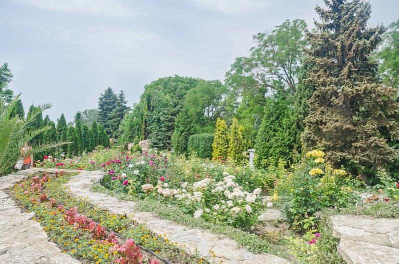 Ο βοτανικός κήπος Balchik στοκ εικόνες