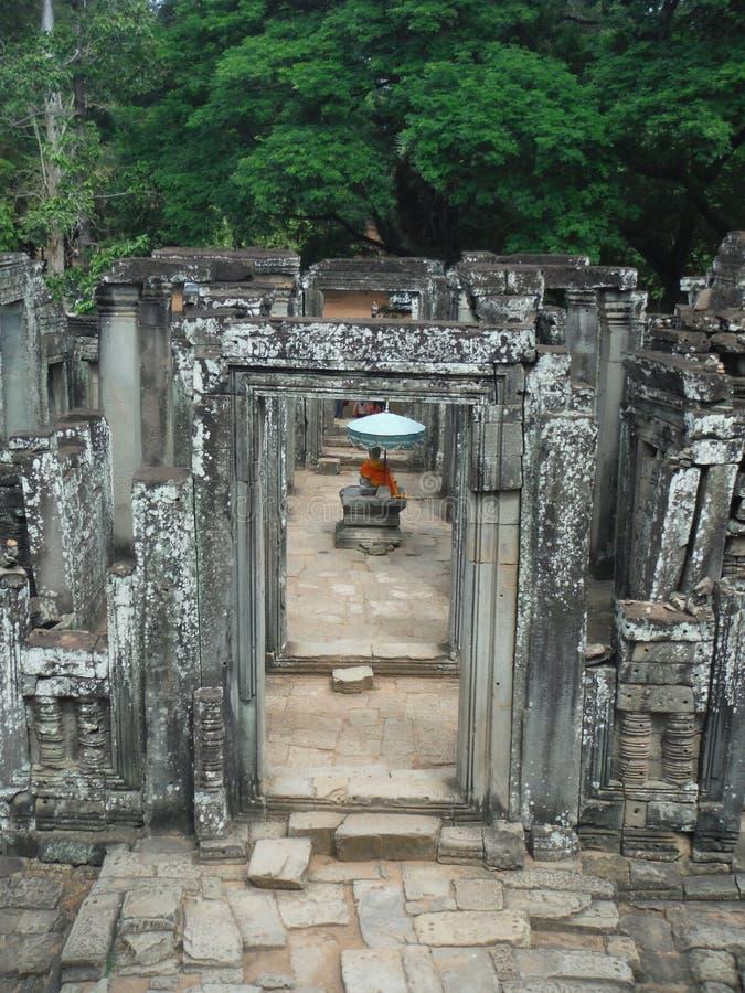Ο Βούδας σε Siem συγκεντρώνει στοκ φωτογραφία