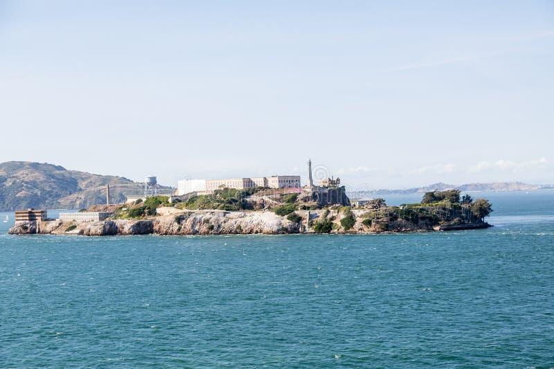 Ο βράχος Alcatraz στοκ φωτογραφία με δικαίωμα ελεύθερης χρήσης
