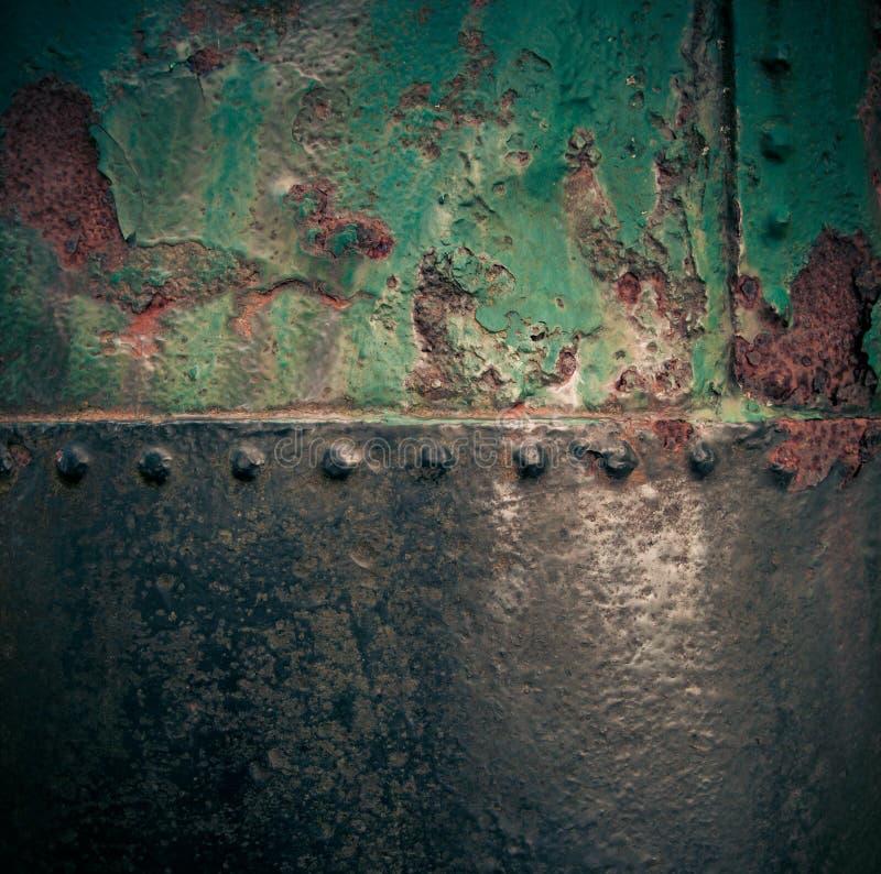 ο βρώμικος σίδηρος χρωμάτισε τη σκουριασμένη σύσταση στοκ εικόνα με δικαίωμα ελεύθερης χρήσης
