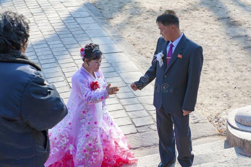 Ο γάμος του μουσείου του Kaesong Cheng Jun, Βόρεια Κορέα στοκ εικόνες με δικαίωμα ελεύθερης χρήσης