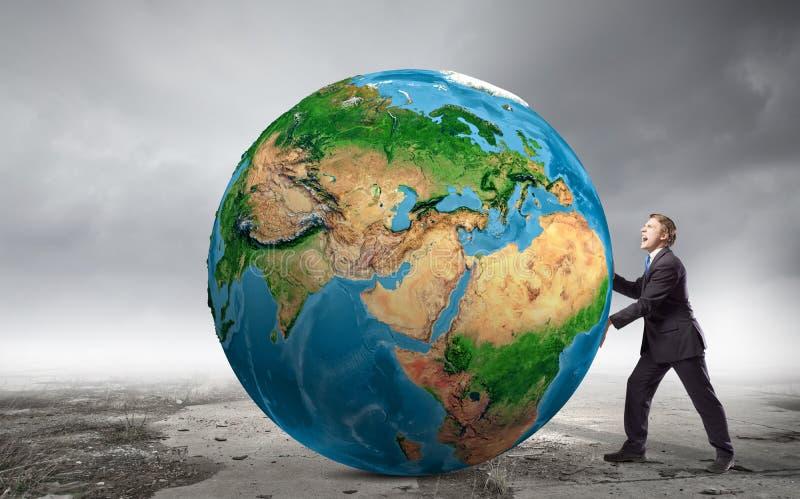 Ο γήινος πλανήτης μας στοκ εικόνα με δικαίωμα ελεύθερης χρήσης