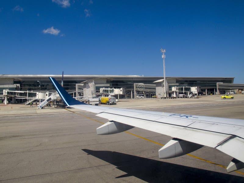 Ο γενέθλιος αερολιμένας Rio Grande κάνει Norte Βραζιλία στοκ φωτογραφία με δικαίωμα ελεύθερης χρήσης