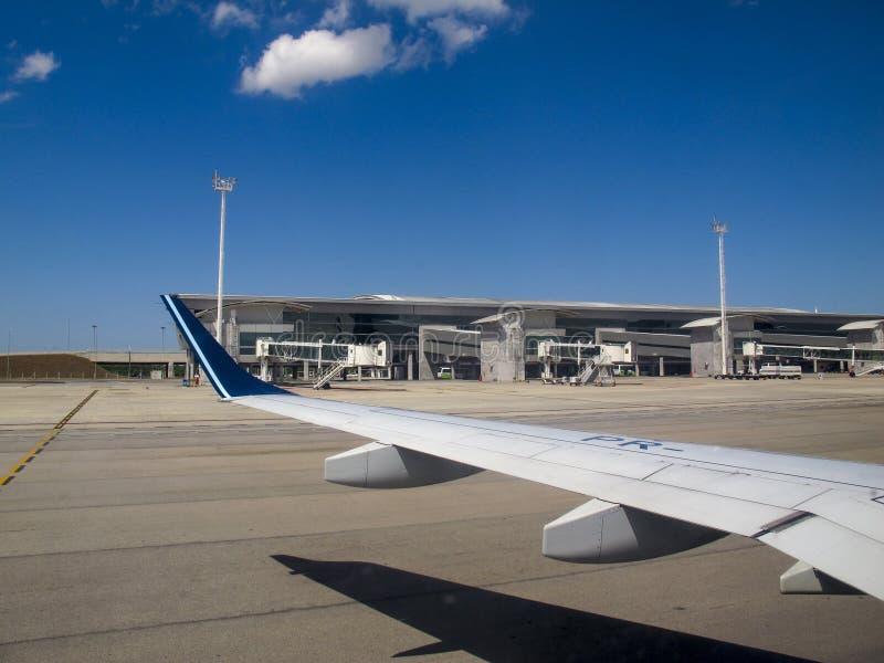 Ο γενέθλιος αερολιμένας Rio Grande κάνει Norte Βραζιλία στοκ φωτογραφίες με δικαίωμα ελεύθερης χρήσης
