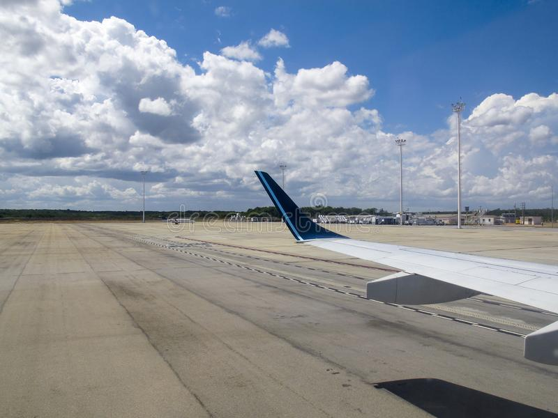 Ο γενέθλιος αερολιμένας Rio Grande κάνει Norte Βραζιλία στοκ φωτογραφίες