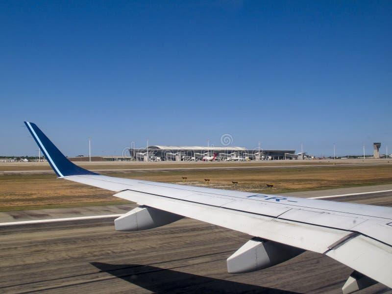 Ο γενέθλιος αερολιμένας Rio Grande κάνει Norte Βραζιλία στοκ εικόνες