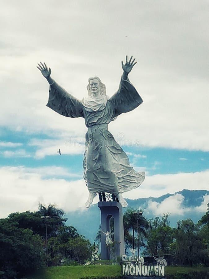 Ο γιγαντιαίος Ιησούς Statue στοκ φωτογραφία με δικαίωμα ελεύθερης χρήσης
