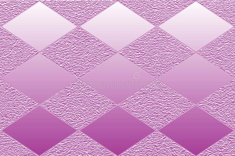 Ο γραφικός πόρος αποτελείται από ομαλό και αποτυπωμένος σε ανάγλυφο rhombuses ελεύθερη απεικόνιση δικαιώματος