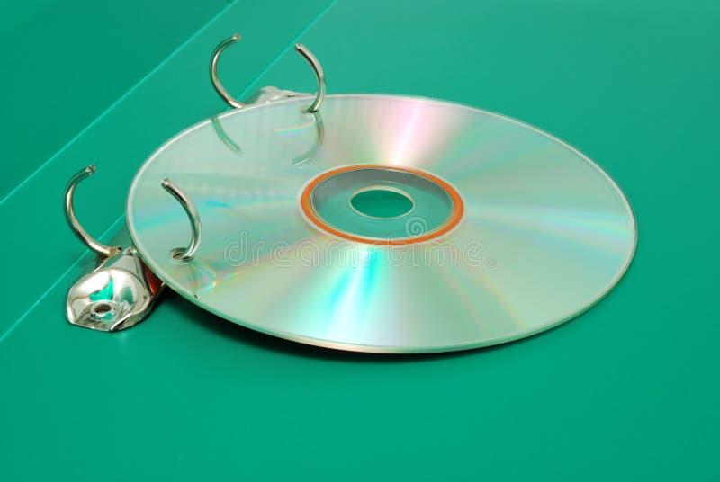 ο δίσκος τεκμηριώνει dvd τη &ga στοκ εικόνα με δικαίωμα ελεύθερης χρήσης