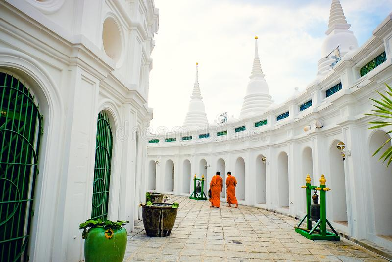 Ο διάσημος ναός Μπανγκόκ Ταϊλάνδη στοκ εικόνες