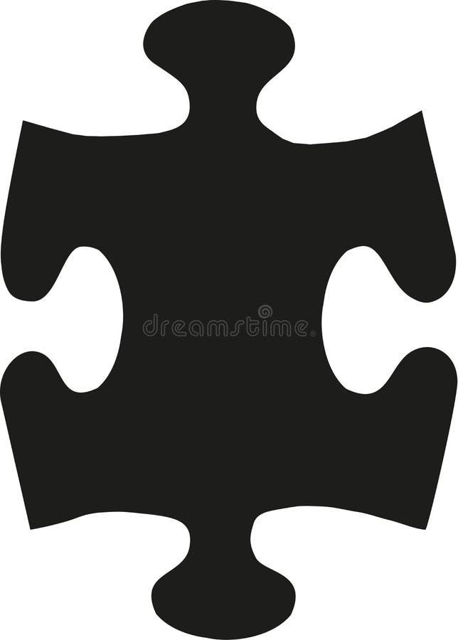 Ο διανυσματικός Μαύρος γρίφων απεικόνιση αποθεμάτων