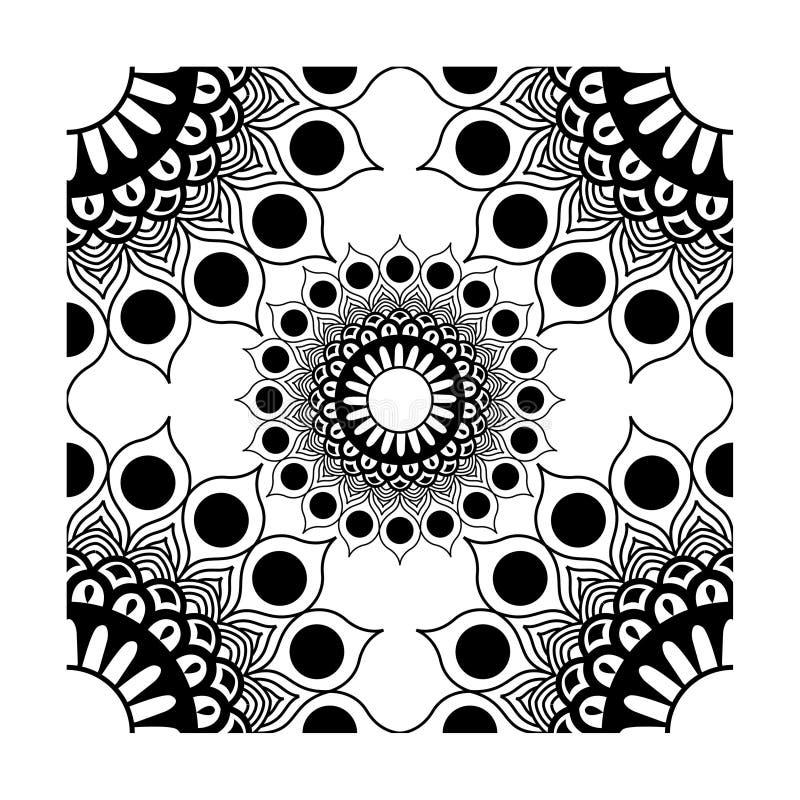 Ο διανυσματικός Μαύρος διακοσμήσεων γωνιών στοιχείων διανυσματική απεικόνιση