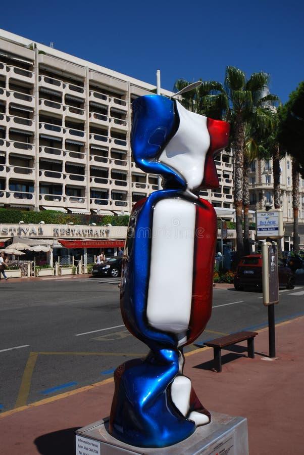 Ο διηπειρωτικός Carlton Κάννες, μπλε, λούνα παρκ, όχημα, καρέκλα κουρέων στοκ εικόνα με δικαίωμα ελεύθερης χρήσης
