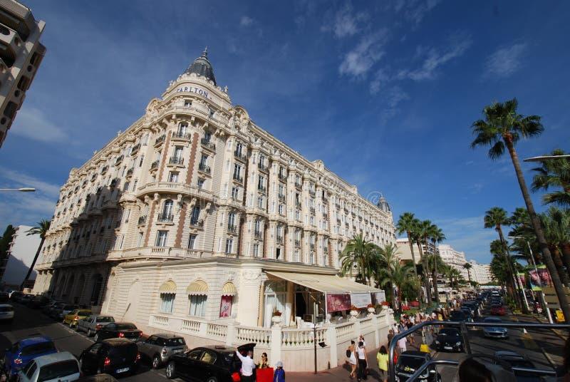 Ο διηπειρωτικός Carlton Κάννες, ορόσημο, πόλη, κτήριο, τουρισμός στοκ εικόνα με δικαίωμα ελεύθερης χρήσης