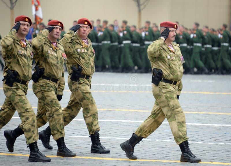 Ο διοικητής ενός χωριστού τμήματος σε τους Εθνική φρουρά στρατεύματα σημαντικός στρατηγός Dmitry Cherepanov Dzerzhinsky στοκ φωτογραφίες