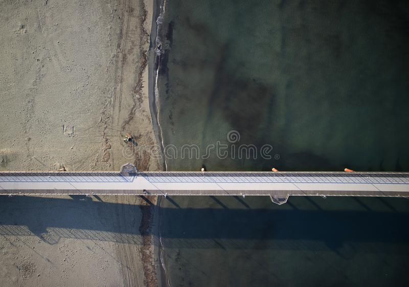 Ο δρόμος στη θάλασσα στοκ φωτογραφίες