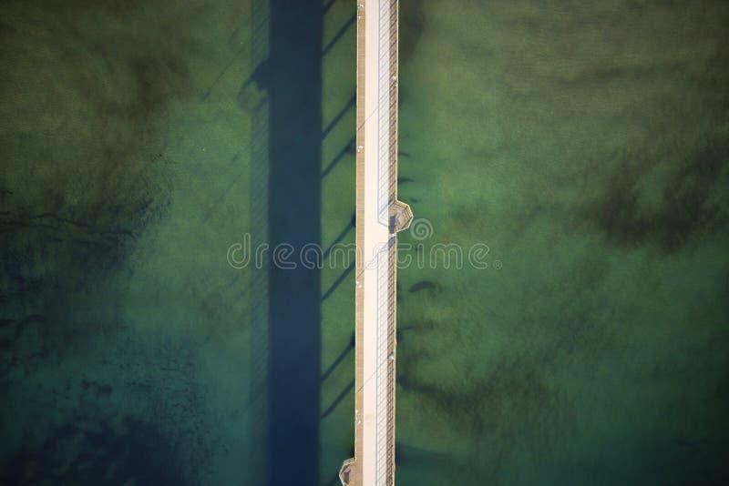 Ο δρόμος στη θάλασσα στοκ φωτογραφία