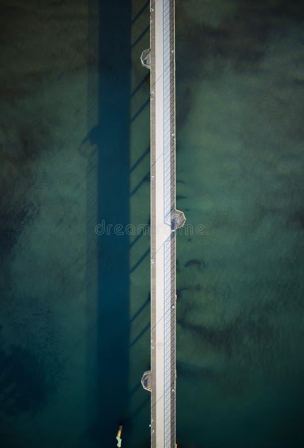 Ο δρόμος στη θάλασσα στοκ εικόνες