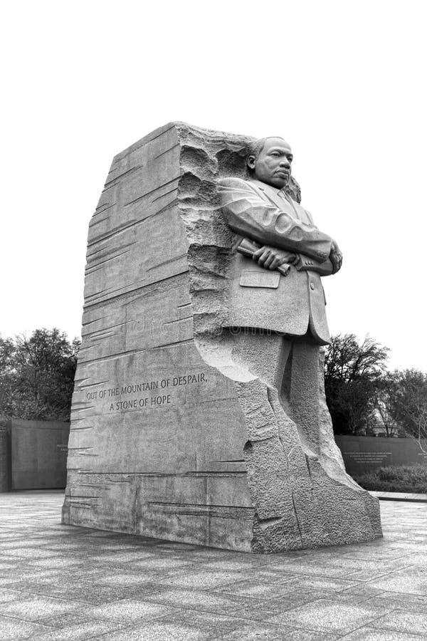 Ο Δρ μνημείο του Martin Luther King Jr στο Washington DC στοκ εικόνα