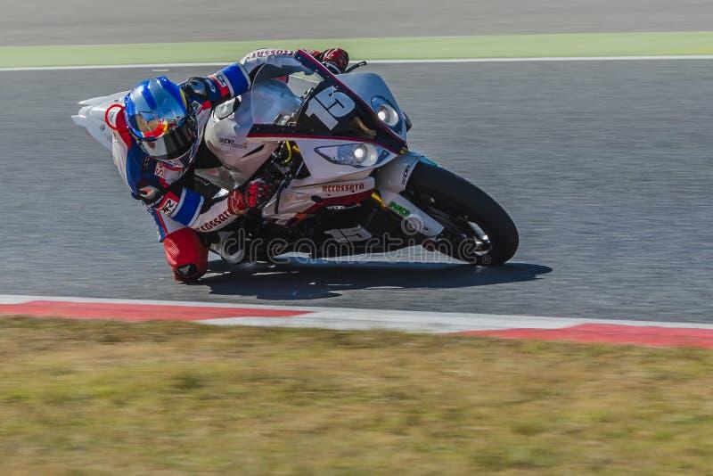 Ο ΔΡ συναγωνιμένος ομάδα 24 ώρες Motorcycling Catalunya στοκ φωτογραφία