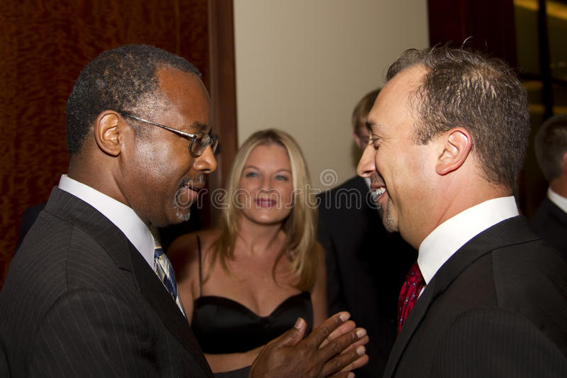 Ο Δρ Ben Ε Carson που τρέχει ενδεχομένως για το U Πρόεδρος του S στοκ εικόνες με δικαίωμα ελεύθερης χρήσης