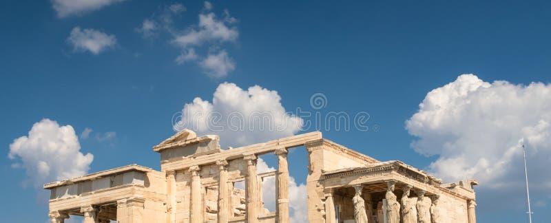 Ο δωρικός ναός Parthenon μπλε ουρανός διάστημα αντιγράφων στοκ εικόνα με δικαίωμα ελεύθερης χρήσης