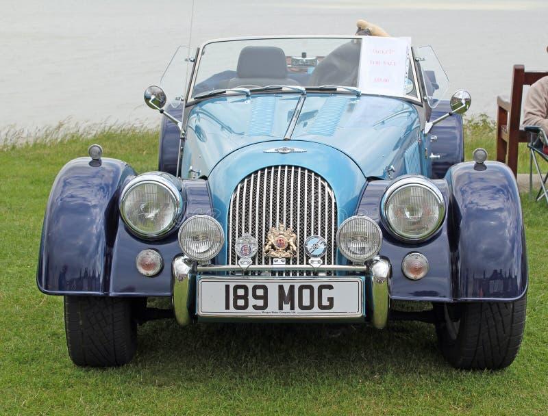 Ο εκλεκτής ποιότητας Morgan Car στοκ εικόνα