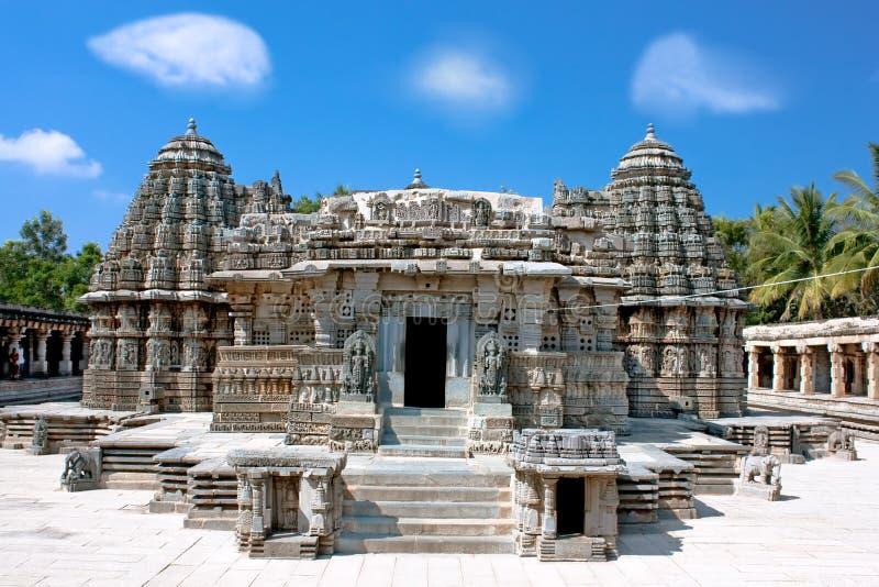 Ο εκπληκτικά όμορφος ναός Keshava στοκ φωτογραφία με δικαίωμα ελεύθερης χρήσης