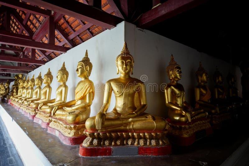 Ο ελάχιστος χρυσός Βούδας στοκ φωτογραφία με δικαίωμα ελεύθερης χρήσης