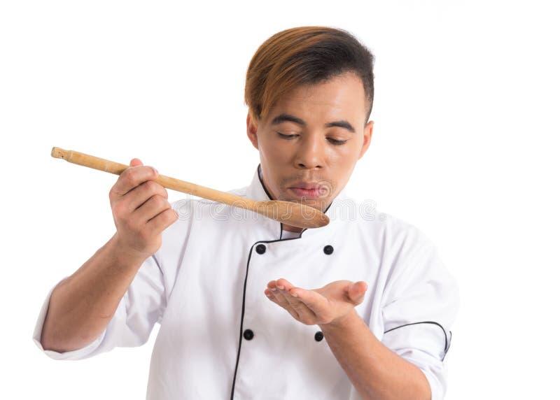 Ο επαγγελματίας είναι παρουσίαση αποδείξεων η συνταγή Ο νέος μαύρος είναι στο λευκό στοκ φωτογραφία με δικαίωμα ελεύθερης χρήσης