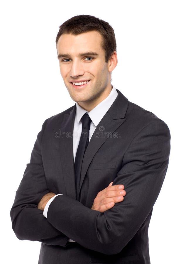 ο επιχειρηματίας εβλάστ&e στοκ φωτογραφία με δικαίωμα ελεύθερης χρήσης