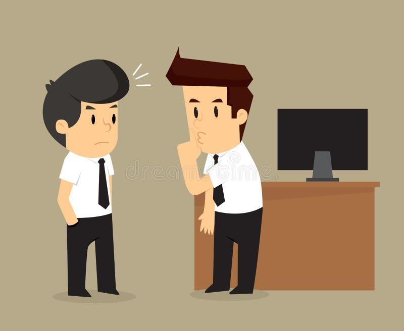 Ο επιχειρηματίας πείθει το κουτσομπολιό φίλων άλλοι ελεύθερη απεικόνιση δικαιώματος