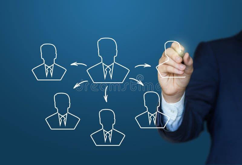 Ο επιχειρηματίας σύρει το εργαλείο στην έννοια επιτυχίας διανυσματική απεικόνιση