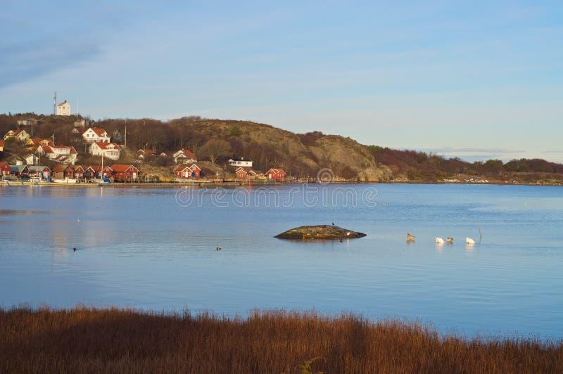 Ο ευθύς μεταξύ των κύριων νησιών Koster στοκ εικόνες με δικαίωμα ελεύθερης χρήσης
