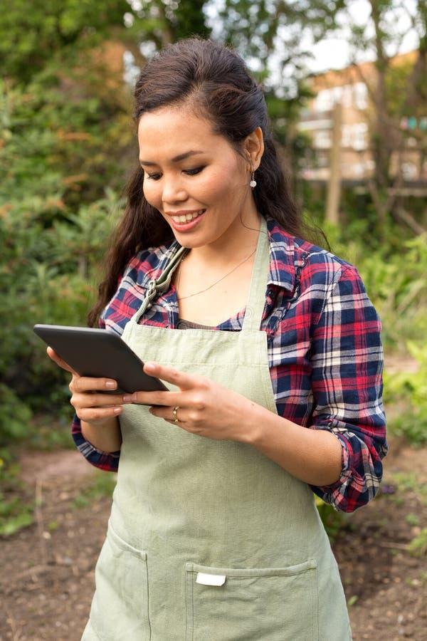 Οδηγίες κηπουρικής στοκ εικόνα με δικαίωμα ελεύθερης χρήσης