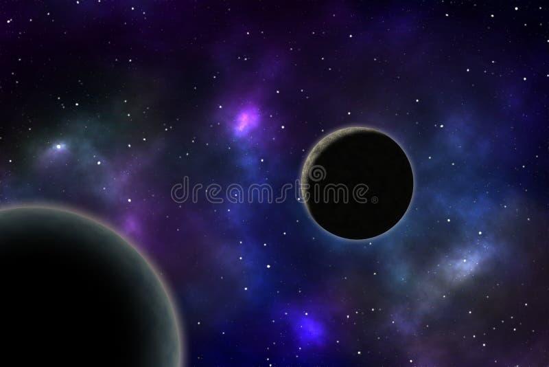 οδηγώντας διάστημα ράστερ πλανητών εικόνας απεικονίσεων κύκλων στοκ φωτογραφία με δικαίωμα ελεύθερης χρήσης
