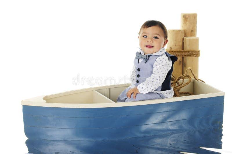 Οδηγώντας μωρό βαρκών στοκ φωτογραφία με δικαίωμα ελεύθερης χρήσης