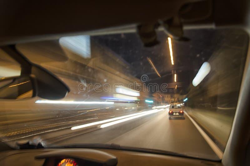 οδηγώντας νύχτα στοκ φωτογραφίες με δικαίωμα ελεύθερης χρήσης