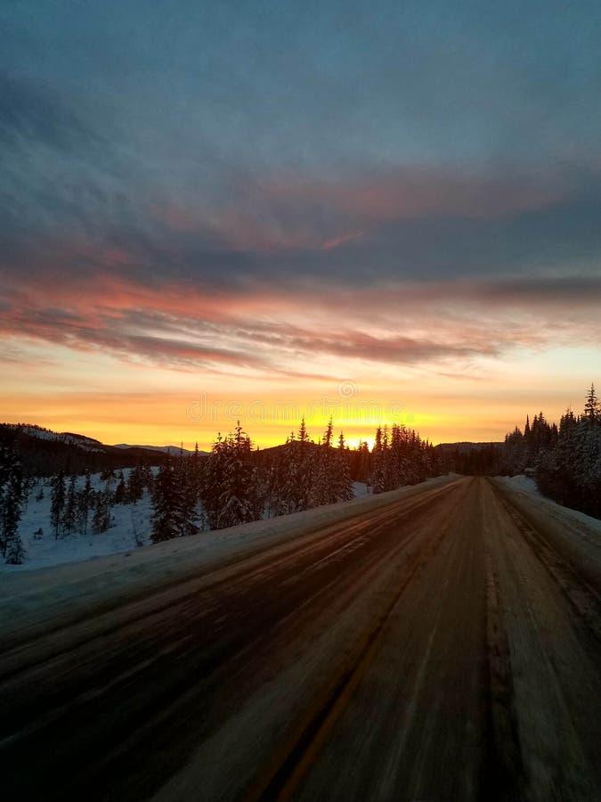Οδηγώντας δύση στοκ φωτογραφίες με δικαίωμα ελεύθερης χρήσης