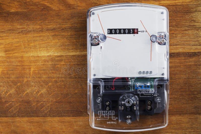 Ο ηλεκτρικός μετρητής στοκ φωτογραφία με δικαίωμα ελεύθερης χρήσης