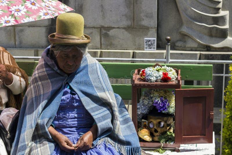 Ο θάνατος δεν θα μας χωρίσει Λα Παζ, Βολιβία στοκ φωτογραφίες με δικαίωμα ελεύθερης χρήσης