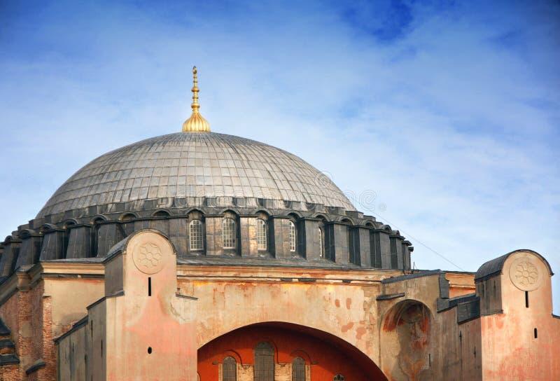 Ο θαυμάσιος θόλος Hagia Sophia στη Ιστανμπούλ στοκ εικόνα