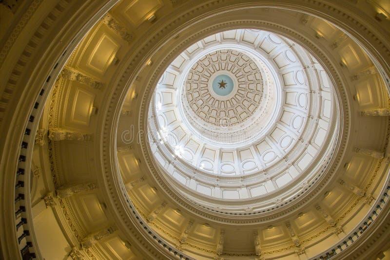 Ο θόλος του Τέξας Capitol στοκ φωτογραφίες