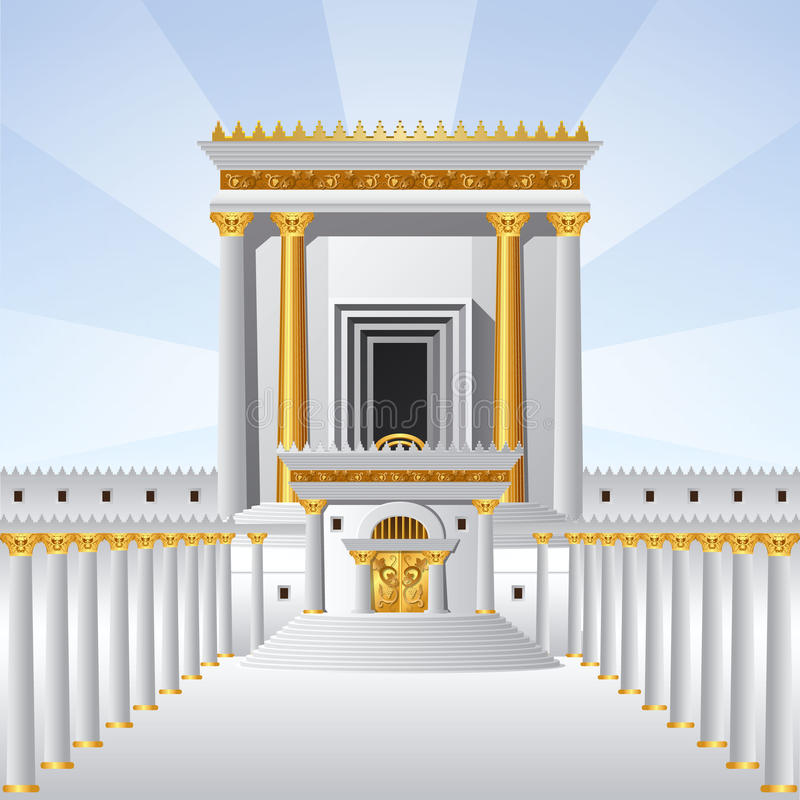 Ο ιερός ναός στοκ εικόνες