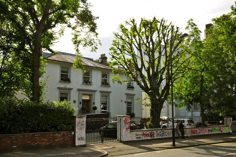 Οδικά στούντιο αβαείων, Λονδίνο στοκ φωτογραφία με δικαίωμα ελεύθερης χρήσης